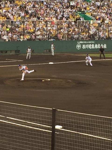 29.6.27 中日阪神3対1鈴木翔太 浜松市営球場 2017-06-27 003